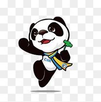 2018上海进博会吉祥物进宝