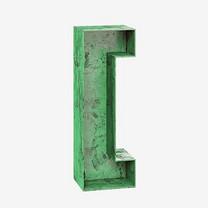 立体中括号字母装饰