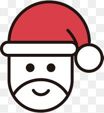 红色圣诞节免抠图标