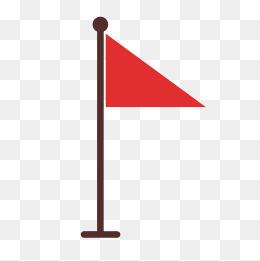 三角形红旗图片_红旗矢量图图片-红旗矢量图图片素材免费下载-千库网