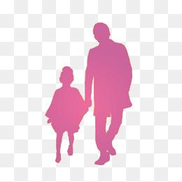 父亲和儿子卡通图片_父亲剪影图片-父亲剪影素材图片-父亲剪影素材图片免费下载-千 ...