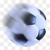 急速的足球