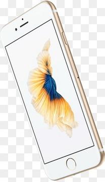 金色苹果手机模型产品图iPhone手机iPhone6侧面