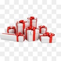 白色礼品盒