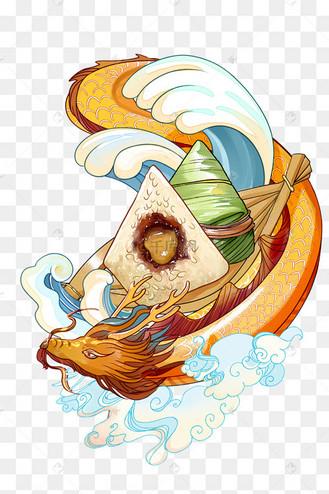端午端午节国潮风粽子