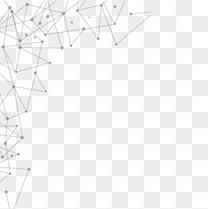 矢量简约灰色抽象对称科技感纹路