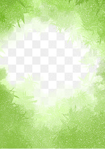自然生态竹子背景边框