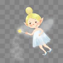 花仙子小精灵可爱插画