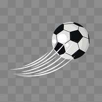 卡通足球矢量素材