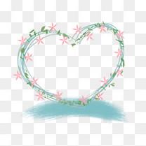 520心形花环婚礼情侣