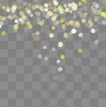 彩色光点光晕元素