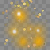 光斑光晕彩色光元素