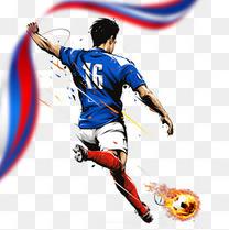 足球世界杯火箭队海报