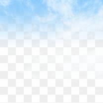 唯美蓝天白云元素