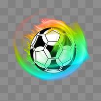 2018世界杯足球炫酷彩色
