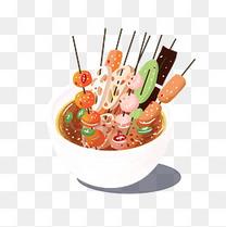 四川特色串串美食
