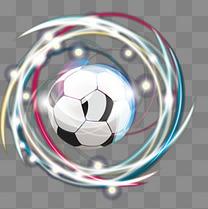 漂亮特效世界杯足球