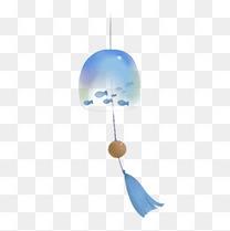 小清新水彩风铃手绘