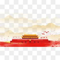71建党节天安门背景