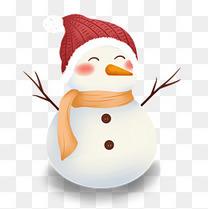 冬天可爱卡通雪人