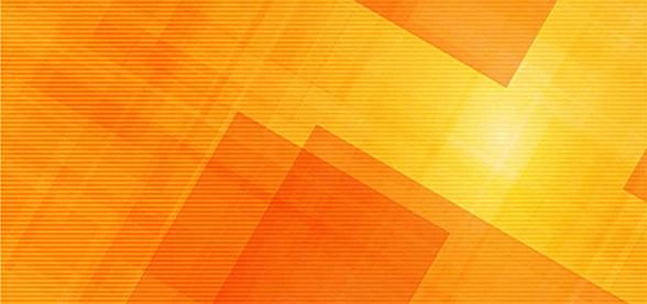橙色多边形背景