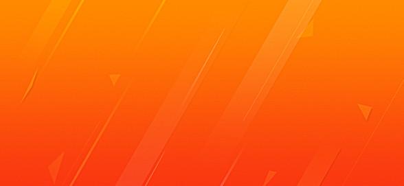 橙色扁平背景